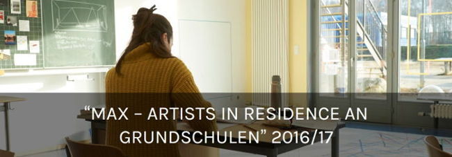 Max – Artists in Residence an Grundschulen